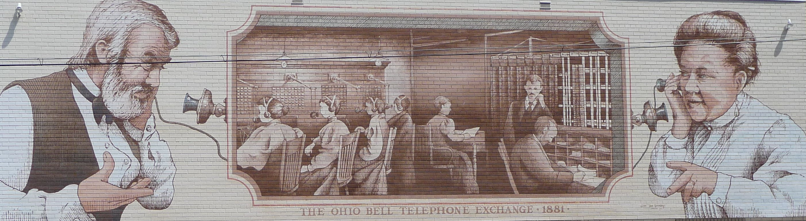 Bell Mural in Steubenville